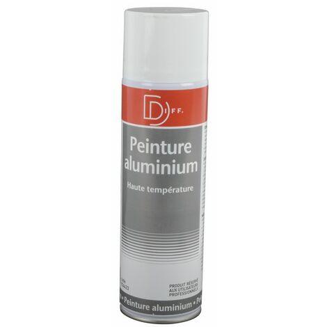 Peinture aluminium haute température aérosol 650/400ml