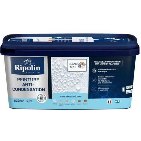 Peinture Anti-Condensation, Mat, Ripolin