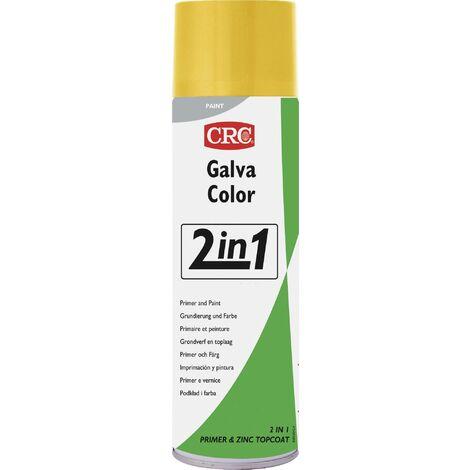 Peinture anti-corrosion GALVACOLOR à double effet, jaune d'or RAL 1004 CRC GALVACOLOR 20563-AD 500 ml S000271