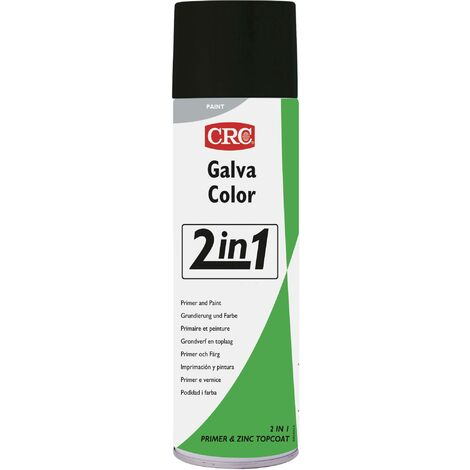 Peinture anti-corrosion GALVACOLOR avec double effet gris anthracite RAL 7016 CRC GALVACOLOR 32702-HO 500 ml S229551