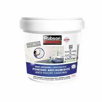 Peinture Anti-Humidité 0,75L blanc RUBSON