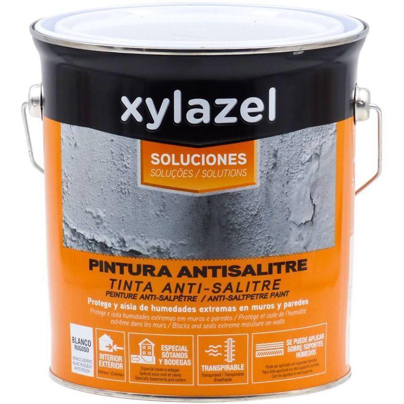 Peinture Anti Humidite Anti Salpetre Xylazel 4 L 10247