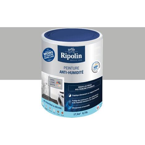 Peinture anti humidité blanc satin RIPOLIN - plusieurs modèles disponibles