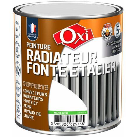 Peinture antirouille monocouche radiateur fonte et acier 0,5