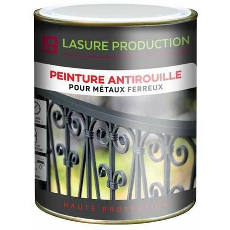 PEINTURE ANTIROUILLEGris Ardoise - Bidon de 5 l - Gris Ardoise