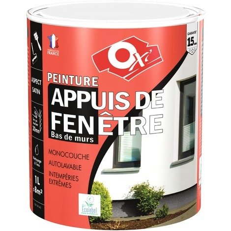 Peinture appuis de fenêtre Oxi