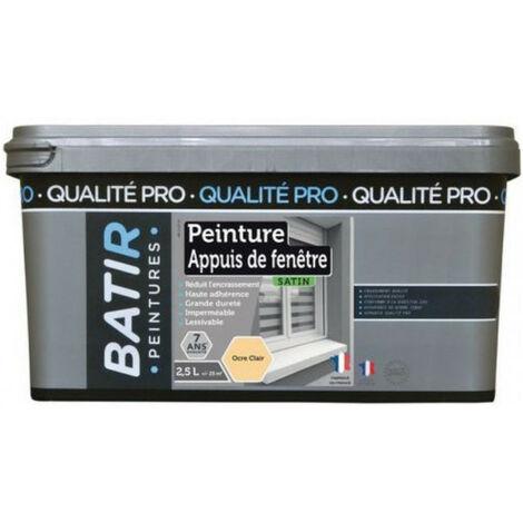 Peinture appuis de fenêtre qualité pro BATIR - plusieurs modèles disponibles