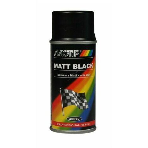 Peinture auto universelle noir mat, 150ml - Motip