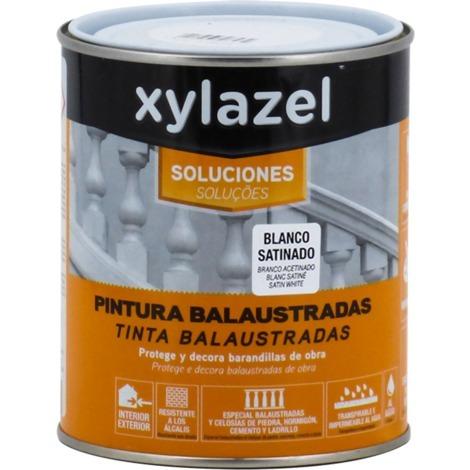 Peinture balustrades blanc satin Xylazel