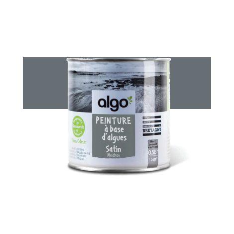 Peinture Biosourcée Décorative Algo Grise Finition Satin (Méaban)