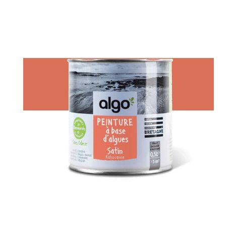 Peinture Biosourcée Décorative Algo Orange Finition Satin (Kahouanne)