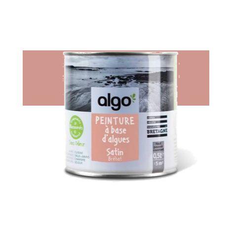 Peinture Biosourcée Décorative Algo Rose Finition Satin (Bréhat)