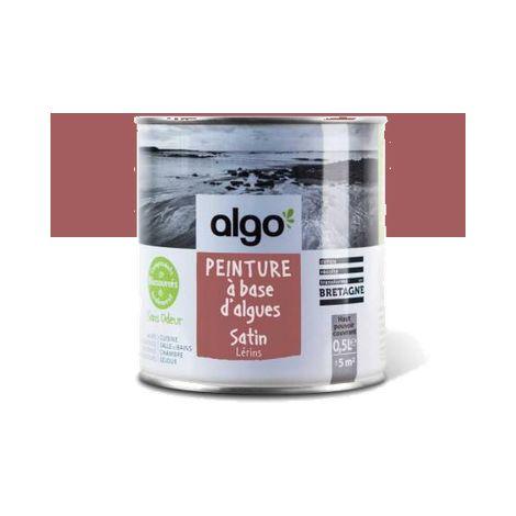 Peinture Biosourcée Décorative Algo Rouge Finition Satin (Lerins)
