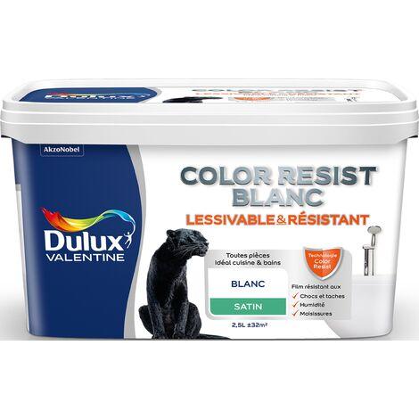 Peinture Blanche Color Resist - Toutes pièces - Dulux Valentine