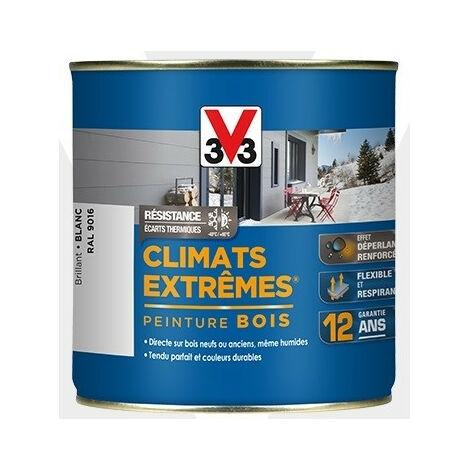 Peinture bois brillant climat extrême 2,5L - plusieurs modèles disponibles