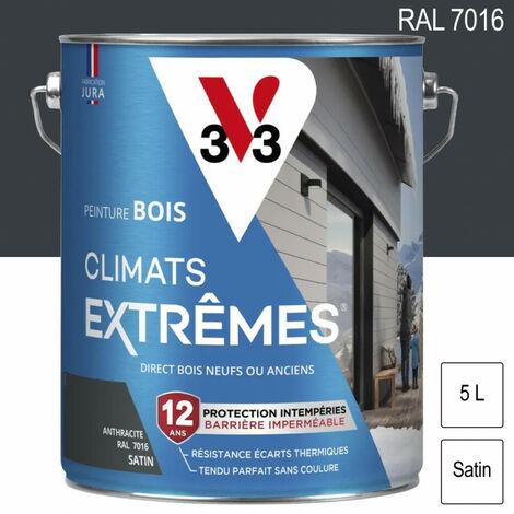 Peinture Bois Climats Extrêmes 5L (coloris et finition au choix) V33 - plusieurs modèles disponibles