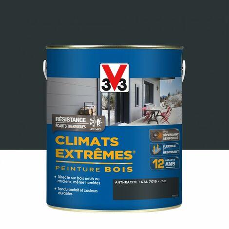 """main image of """"Peinture bois extérieur Climats extrêmes® V33, anthracite mat 2.5 l"""""""