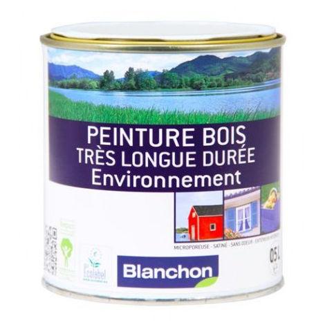Peinture bois longue durée Blanc Cassé de 0,5L à 2,5L