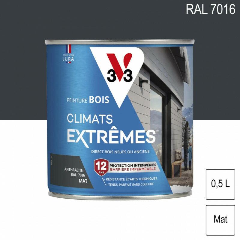 Peinture Bois Mat Climat Extrême 0 5l Plusieurs Modèles Disponibles