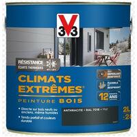 Peinture bois mat climat extrême 2,5L- plusieurs modèles disponibles