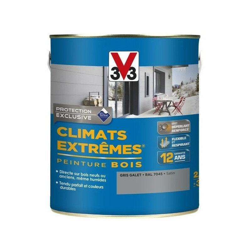 Peinture Bois Satin Climat Extrême 25l Plusieurs Modèles Disponibles