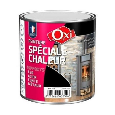 Peinture chaleur 200° 250ml noir - plusieurs modèles disponibles