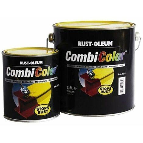 Peinture Combicolor Brillant Blanc Ral 9010 Pot 075l Hex 40590