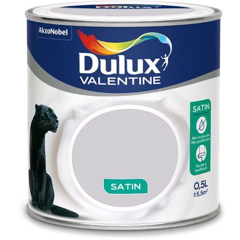 peinture cr me de couleur satin poudre de riz 0 5 l dulux valentine 5161705