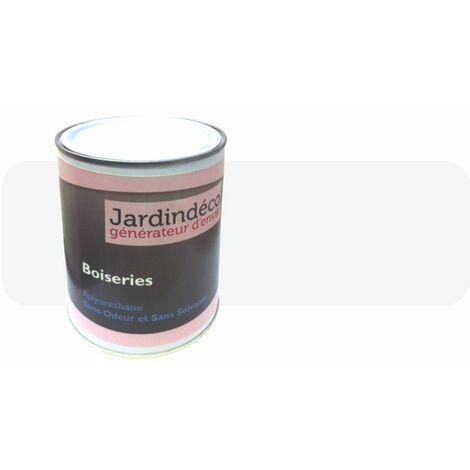Peinture crème pour meuble en bois brut 1 litre