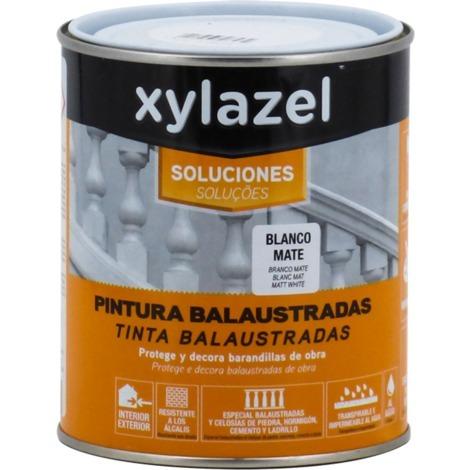 Peinture de balustrade blanche mate Xylazel