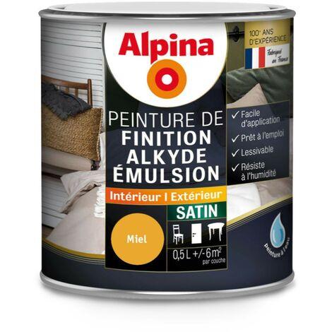 Peinture de finition alkyde satin 0.5L