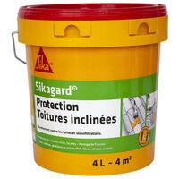 Peinture de protection SIKA Sikagard Protection Toiture inclinée - Beige - 4L
