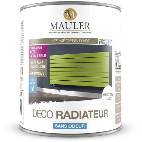 Peinture de rénovation et décoration des radiateurs, directe sans sous-couche : Mauler Déco Radiateur
