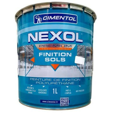Peinture de sol CIMENTOL Nexol  int/ext garage, parking, entrepôt, balcon Demi Brillant