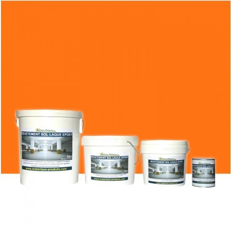 Peinture de Sol Laque Epoxy Orange