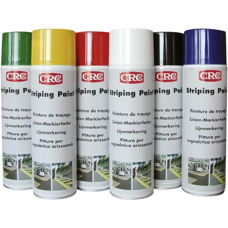 Peinture de traçage de lignes, permanente rouge 500 ml CRC 11675-AA C68158