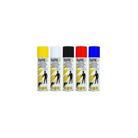 Peinture de tracage semi permanent caractéristiques couleur bleucontenance/contenu 650 / 500 ml