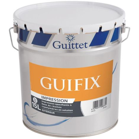 Peinture d'impression façade Guifix 15L Blanc