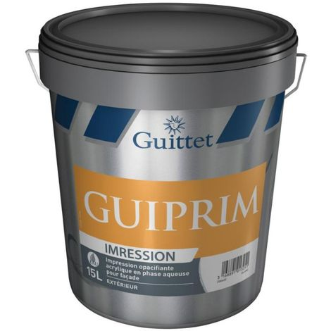 Peinture d'impression façade Guiprim 15L Blanc