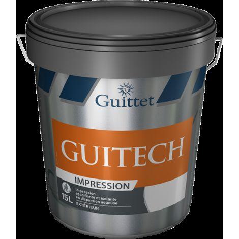 Peinture d'impression façade Guitech 15L Blanc