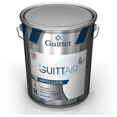 Peinture d'impression Guitt'Air Blanc 3L