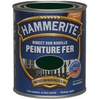Peinture Direct Sur Rouille Laqué Vert Forêt 25 L Hammerite 5093885