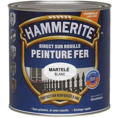 Peinture Direct sur Rouille Martelée Hammerite
