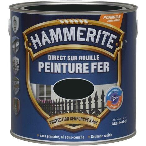 """main image of """"HAMMERITE FERRONNERIE MAT 0.75L NOIR (Vendu par 1)"""""""