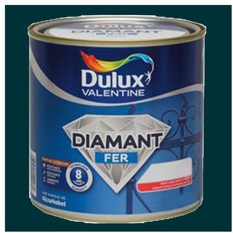 Peinture DULUX VALENTINE Diamant Fer Vert patrick Brillant - 2 L