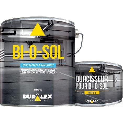 Peinture DURALEX BI-O-SOL Epoxy bi-composante Demi-brillant tendu 20 kg