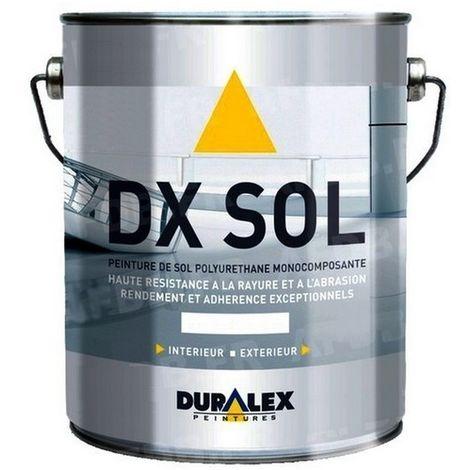 Peinture DURALEX DX Sol trafic intensif Satin 3L