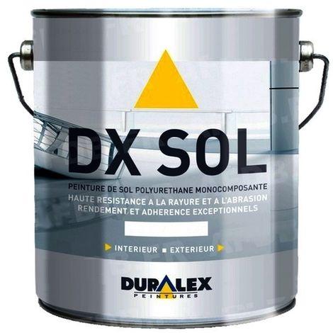 Peinture DURALEX DX Sol trafic intensif Satin Professionnelle 15L | BLEU CLAIRE RAL 5012