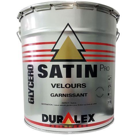 Peinture DURALEX Pro garnissant Satin BLANC 20kg | Conditionnement: 15 Litres