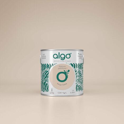 Peinture écologique Algo à base d'algues 100% naturelles - Mat